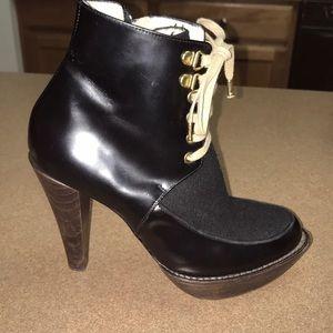 Karen Walker Beaucoop  Platform Ankle Boots